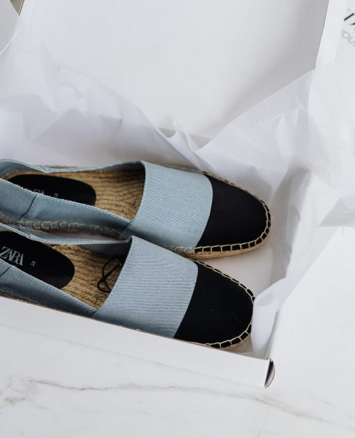 pair of womens shoes inside box counterpoint retail footstores