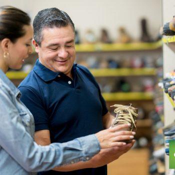 CP Retail POS Shoe Store Customer