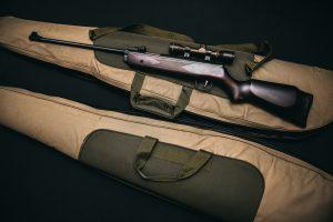 cp retail pos gun case with rifle