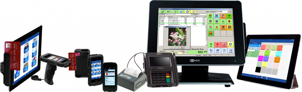 seven devices for anywhere point of sale counterpoint retail pos